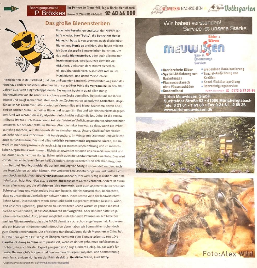 Neuwerker Nachrichten Sep. 2018