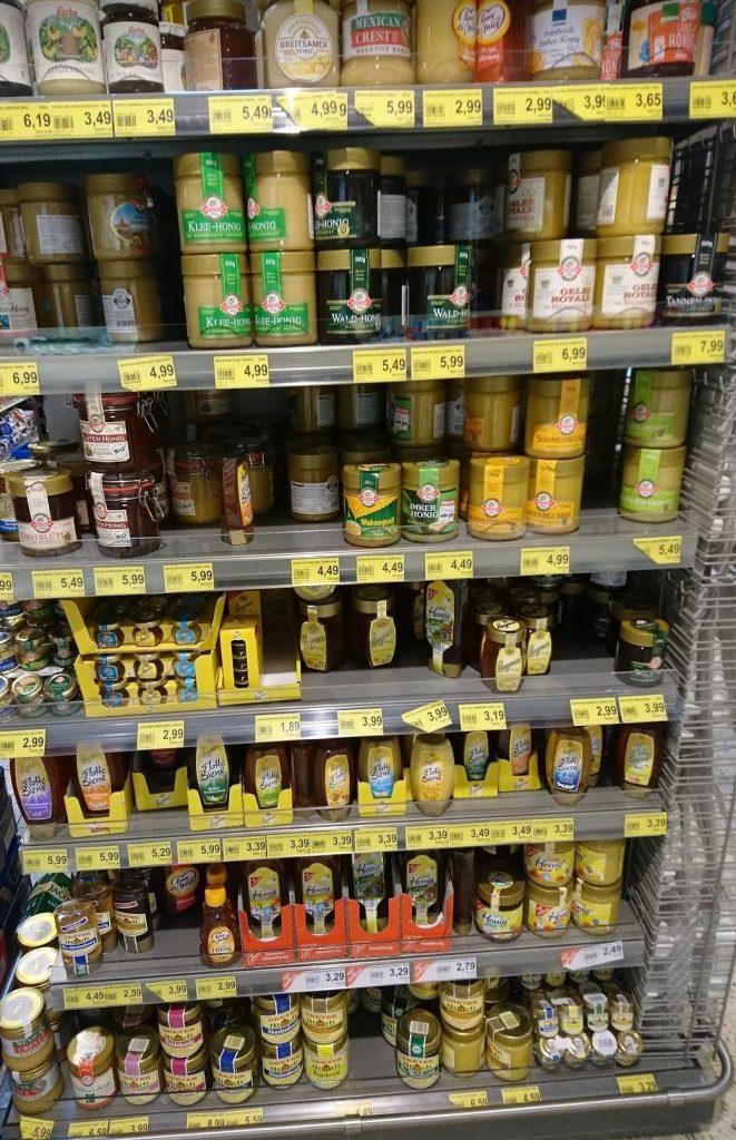Supermarkthonig