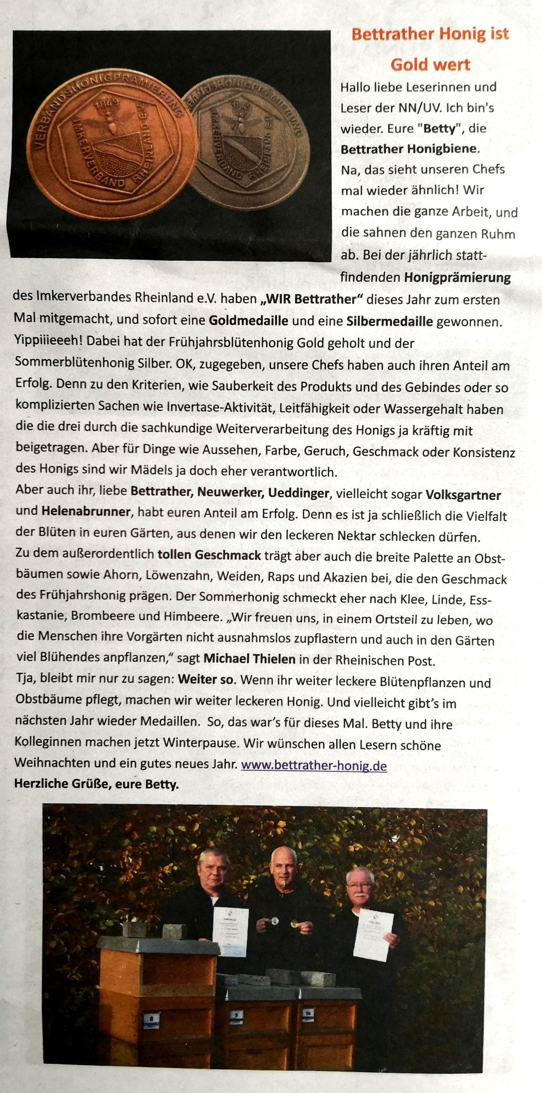 Neuwerker Nachrichten Dez. 2018